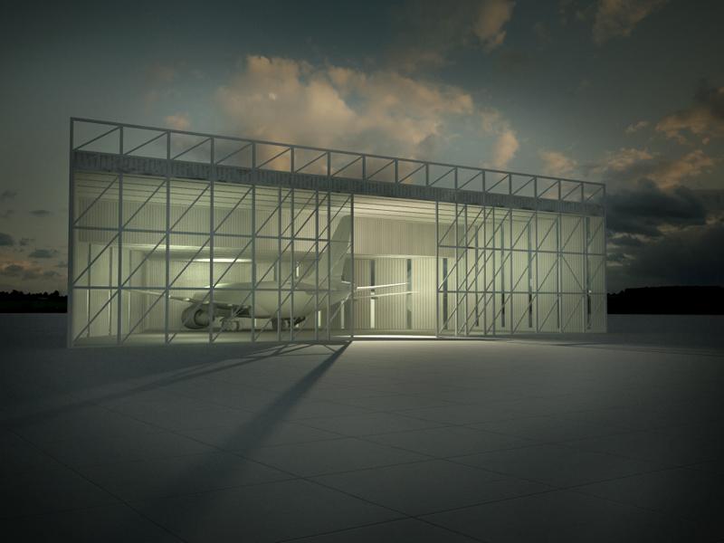 Blablablarchitecture talking building 203car aircraft for Architecture hangar