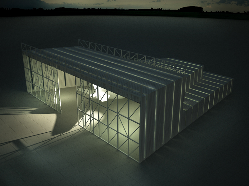 Blablablarchitecture talking building 203car a380 vs for Architecture hangar