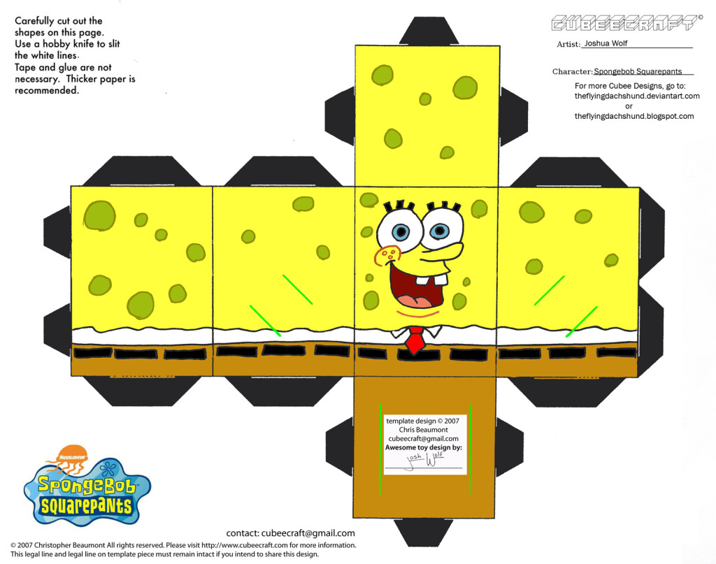 Spongebob-Squarepants-CubeeCraft-HD-ForWallpapers.com_-1024x807