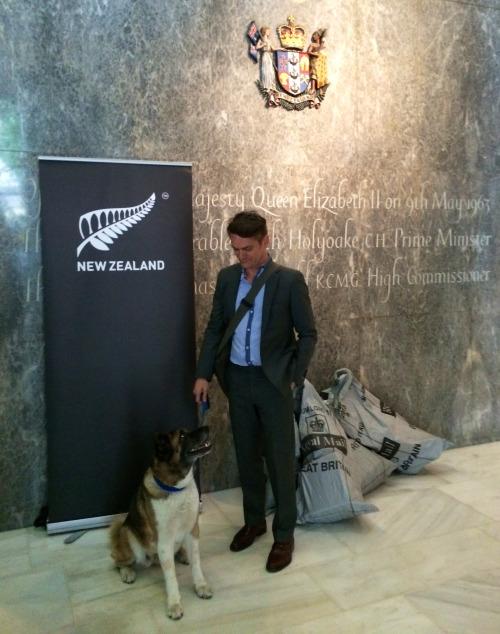 Chiba at NZ Embassy