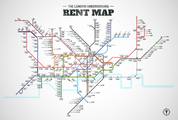 London Rent Map
