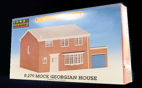 Mock Tudor model